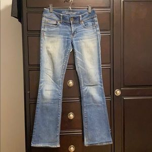 American eagle stretch kickboot jeans
